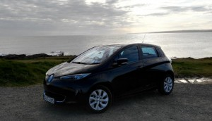 The car. A 2014 Renault Zoe.